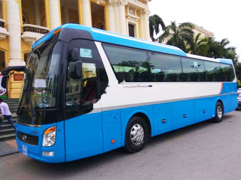 Hanoi Private Shuttle Bus Rental