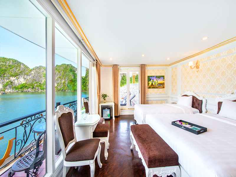 Triple Suite Balcony - 3 Pax/ Cabin (Location: 2nd deck - Private Balcony)