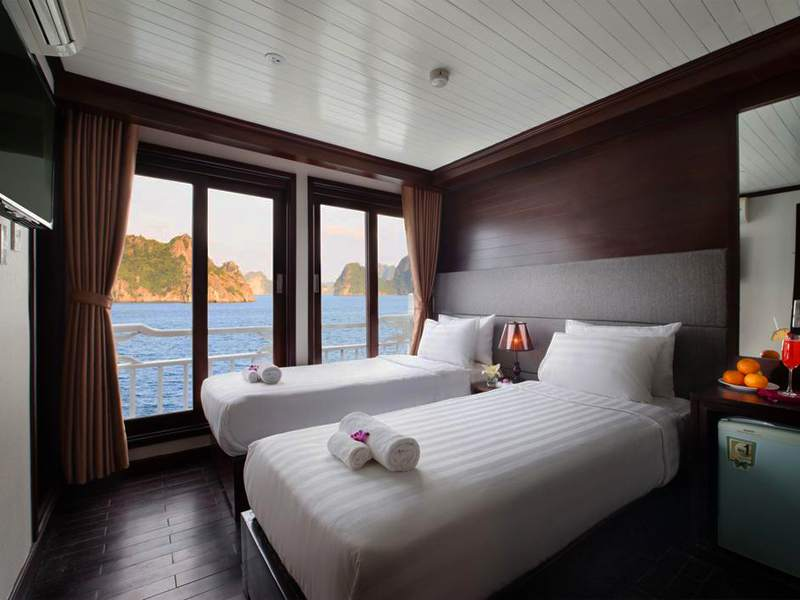 Premium Ocean View - 1 Pax/ Cabin (Location: 2nd Deck - Private Balcony)